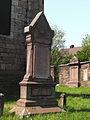 Dampremy-Chapelle Saint-Ghislain-stèle de Crawhez.jpg