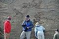 Dan Leavell & glacial outwash (Pleistocene; St. Louisville gravel pits, Licking County, Ohio, USA) 4 (31173108327).jpg