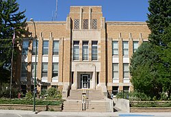 Dawes County, Nebraska courthouse from E.JPG