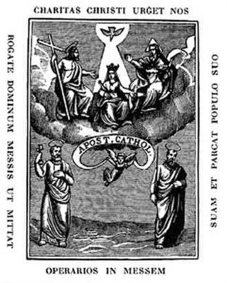 Union of Catholic Apostolate - First emblem of the Union of Catholic Apostolate