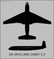 De Havilland Comet C.2 two-view silhouette.png