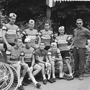 1960 Tour de France - The Dutch team of 1960 Tour