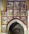 De legende van de Heilige Genoveva van Parijs in de zuidelijke transeptarm van de Sint-Genovevakerk van Zepperen - 375292 - onroerenderfgoed.jpg