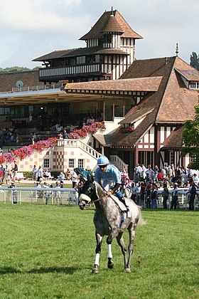 image illustrative de l'article Hippodrome de Deauville-Clairefontaine