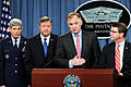 Defense.gov News Photo 110224-D-XH843-008 - Air Force Chief of Staff Gen. Norton A. Schwartz left Secretary of the Air Force Michael B. Donley Deputy Secretary of Defense William J. Lynn III.jpg