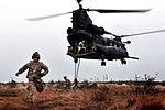 Defense.gov News Photo 120110-O-JO436-455 - Rangers rappel out the back of a CH-47 Chinook helicopter while participating in a combined arms live-fire exercise near Fort Stewart Ga. on Jan.jpg