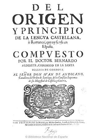 Aldrete, Bernardo (1560-1641)