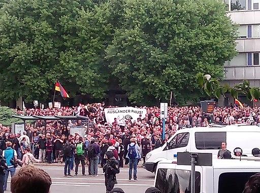 Demonstration Chemnitz 2018-08-27