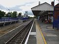 Denham station eastbound platform look west2.JPG