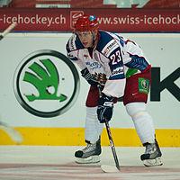 Denis Kokarev - Switzerland vs. Russia, 8th April 2011 (1).jpg