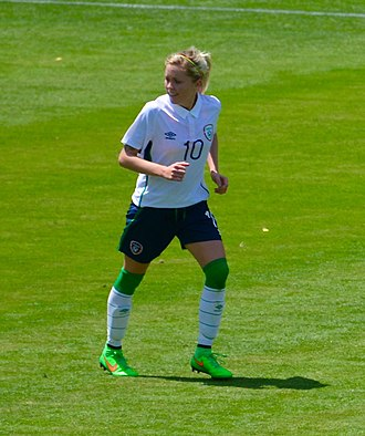 Denise O'Sullivan - Playing for Ireland in May 2015