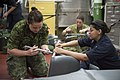 Dental personnel conduct training aboard USNS Mercy 150605-F-YW474-034.jpg