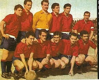 Deportivo Español - The 1960 squad which were promoted to Primera B Metropolitana.