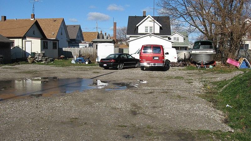 File:Depot Street parking lot in Sandusky.jpg