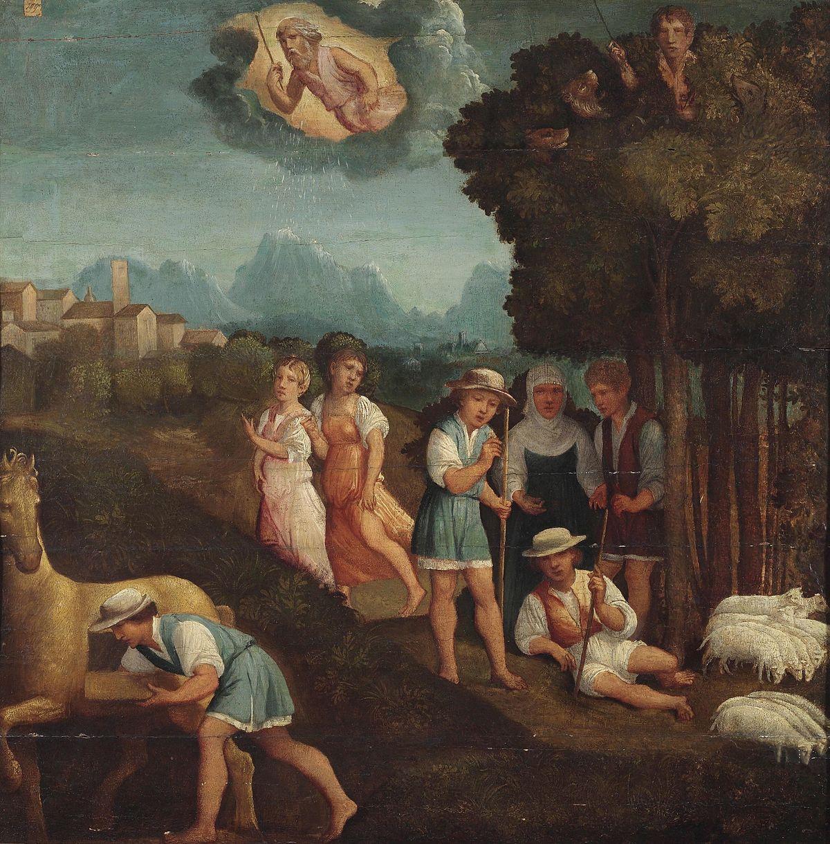 Resultado de imagen para ring of gyges painting