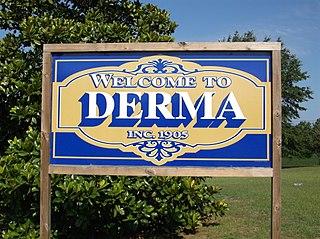 Derma, Mississippi Town in Mississippi, United States