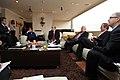 Desayuno de Trabajo del Sr. Canciller Ricardo Patiño con el Sr. Vicepresidente del Ecuador Lenin Moreno y José Miguel Insulza, secretario general de la OEA. (7171240224).jpg