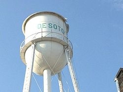Water Tower in De Soto (2006)