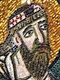 Detalle del mosaico de la Puerta Imperial en Hagia Sophia que muestra a León VI el Sabio (recortado) .jpg