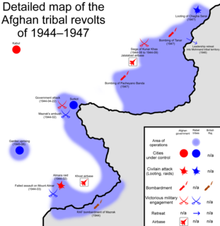 Afghan tribal revolts of 1944–1947 Tribal conflict in Afghanistan