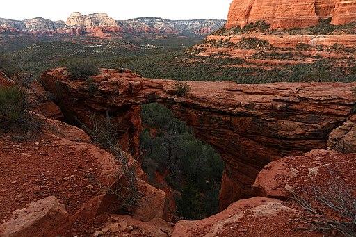 Devil's bridge Sedona Arizona