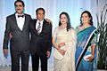 Dharmendra, Hema Malini at Esha Deol's wedding reception 11.jpg