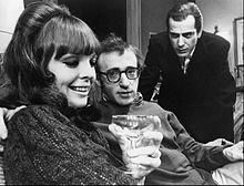 Diane Keaton, Woody Allen and Jerry Lacy in the original Broadway production of Play It Again, ...