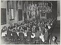 Diner in de Gravenzaal van het stadhuis te Haarlem t.g.v. het congres van de Vereniging Nederlandse Gemeenten. NL-HlmNHA 54014308.JPG