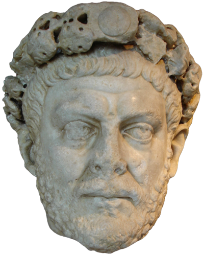 Emperor Diocletian. With his rise to power in 284, the Crisis of the Third Century ended and gave rise to the Tetrarchy