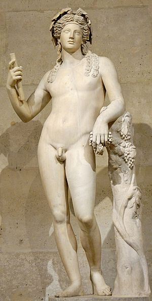 Dionysus - Image: Dionysos Louvre Ma 87 n 2