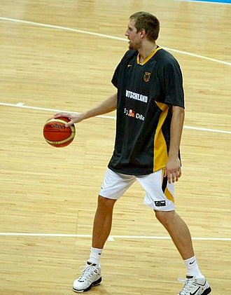 Germany national basketball team - Dirk Nowitzki helped Germany to compete among the world elite.