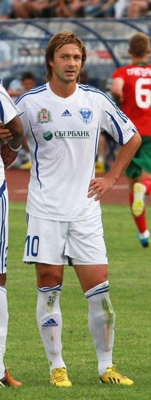 Dmitri Sychev - Playing for Volga in 2013