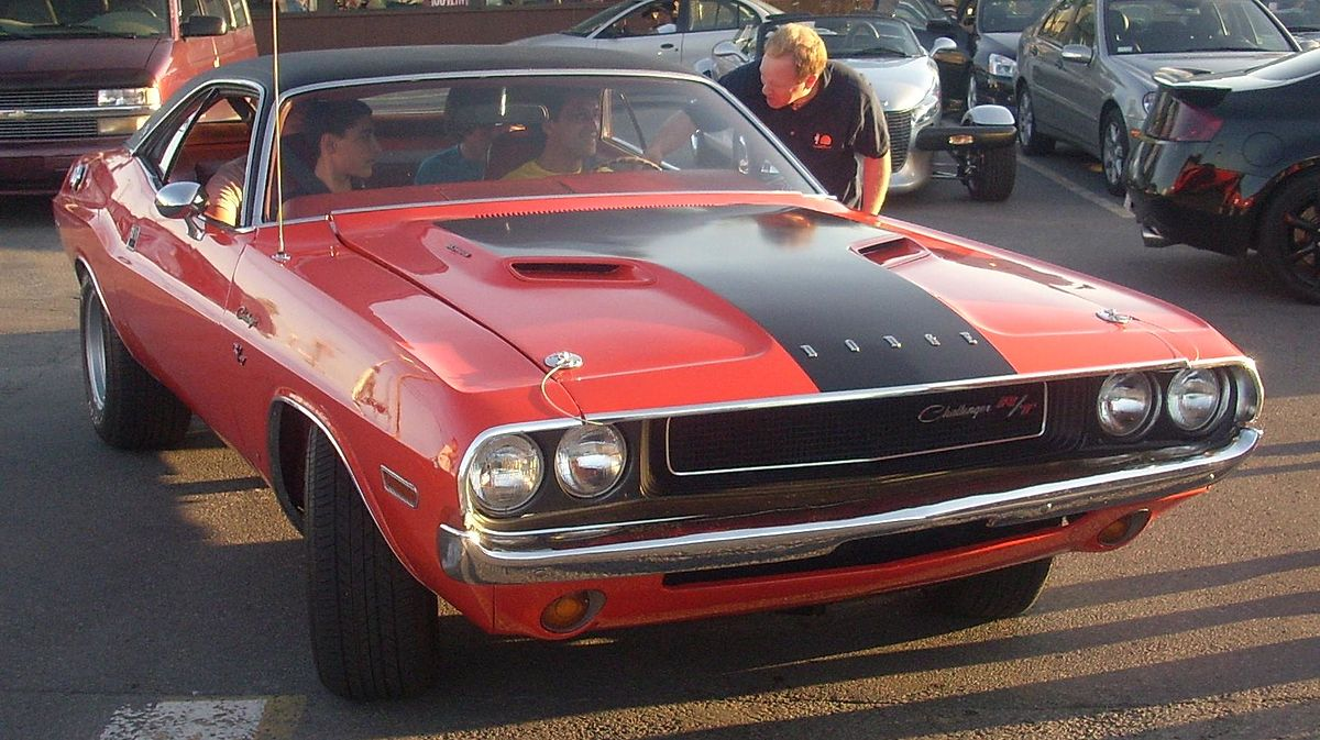 dodge challenger � wikipedia