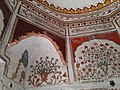 Dome interior of Satghara Temple 3.jpg