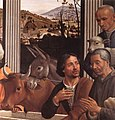 Domenico ghirlandaio, adorazione dei pastori di santa trinita 01.jpg