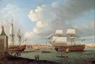 Battle of Ushant (1782)
