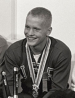 Don Schollander American swimmer, Olympic gold medalist, former world record-holder