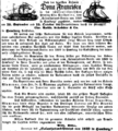 Dona Francisca Newspaper Ad, 1849.png