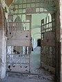 Door in hallway at former Stara Gradiska Prison.jpg
