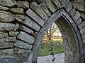 Doorway of ruined lodge, Folke Dorset - geograph.org.uk - 686153.jpg