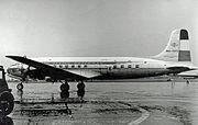 Douglas DC-6 PH-TPT KLM RWY 18.07.53 edited-2