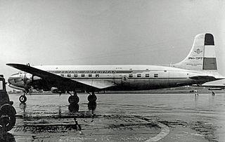 KLM Flight 608