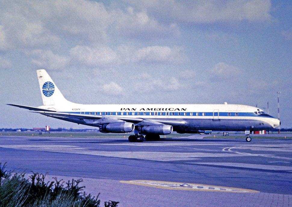 Douglas DC-8-32 N804PA PAA AMS 12.03.67 edited-2