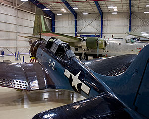 Lone Star Flight Museum - Douglas SBD Dauntless
