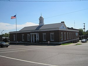 National Register of Historic Places listings in Tennessee - Image: Downtown Camden TN 2012 07 27 017