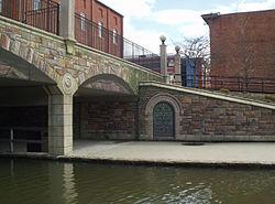 Downtown frederick maryland bridge