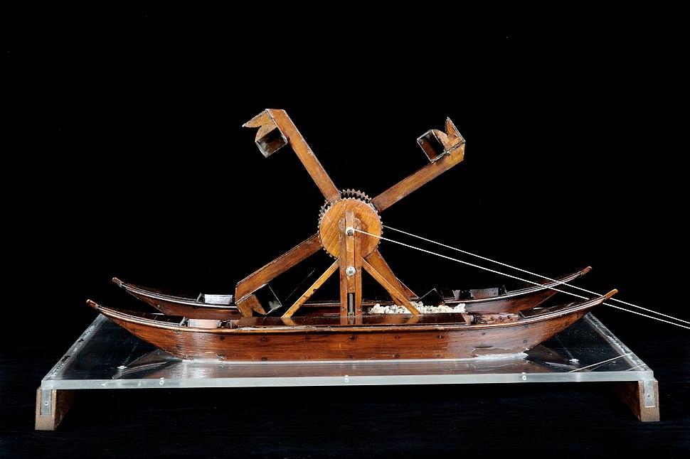 Draga cavafango Leonardo - Museo scienza e tecnologia Milano