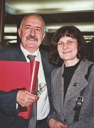 Dragomir Brajković - Brajković with his wife Zorka