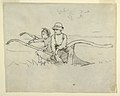 Drawing, Boy and Girl Seated on a Plough, 1879 (CH 18175297).jpg