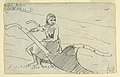 Drawing, Girl Seated on a Plough, 1879 (CH 18175305).jpg